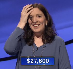 Mara Davis, today's Jeopardy! winner (for the June 9, 2021 game.)