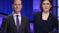Mike Richards and Mayim Bialik, the two new hosts of Jeopardy!
